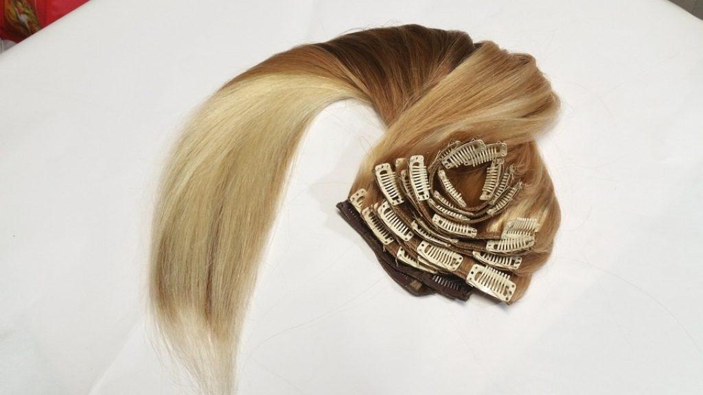 Clip In Haarverlängerungen